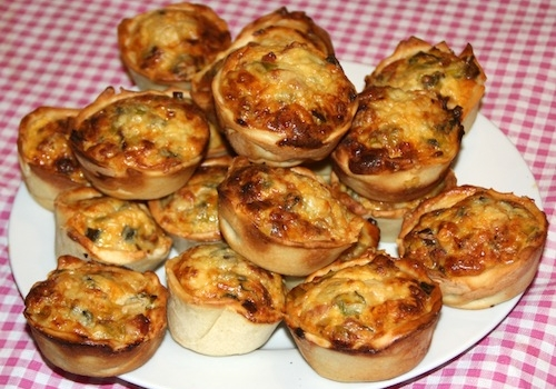 Beemster X-O mini quiches